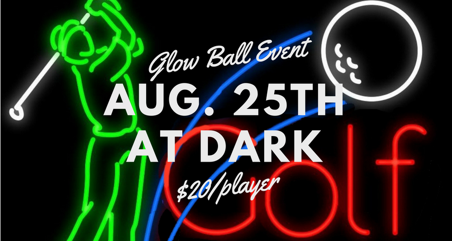 Glow Ball on August 25th